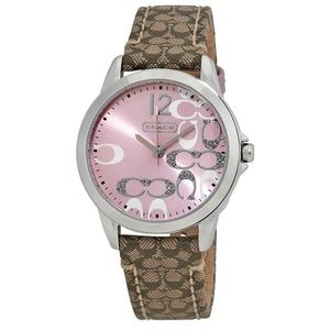 Coach Women's Boyfriend Signature Fabric Watch
